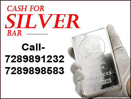 You Can Sell With Cash for Silver in Uttam Nagar