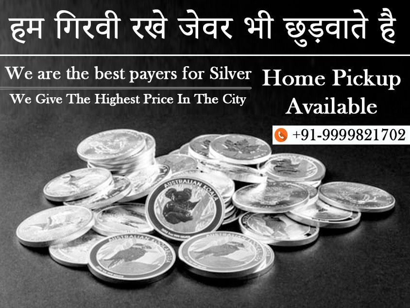 Cash For Silver In Badarpur Border